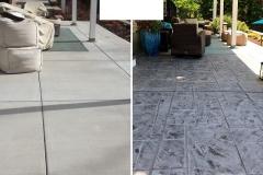 stained concrete patio dallas