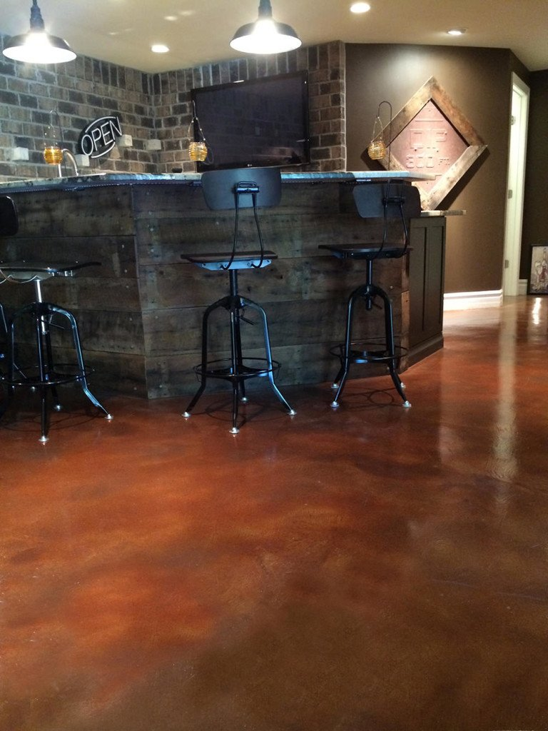 stained concrete dallas